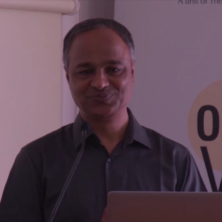 Dr. Pramod Reddy at the opening of FCDC